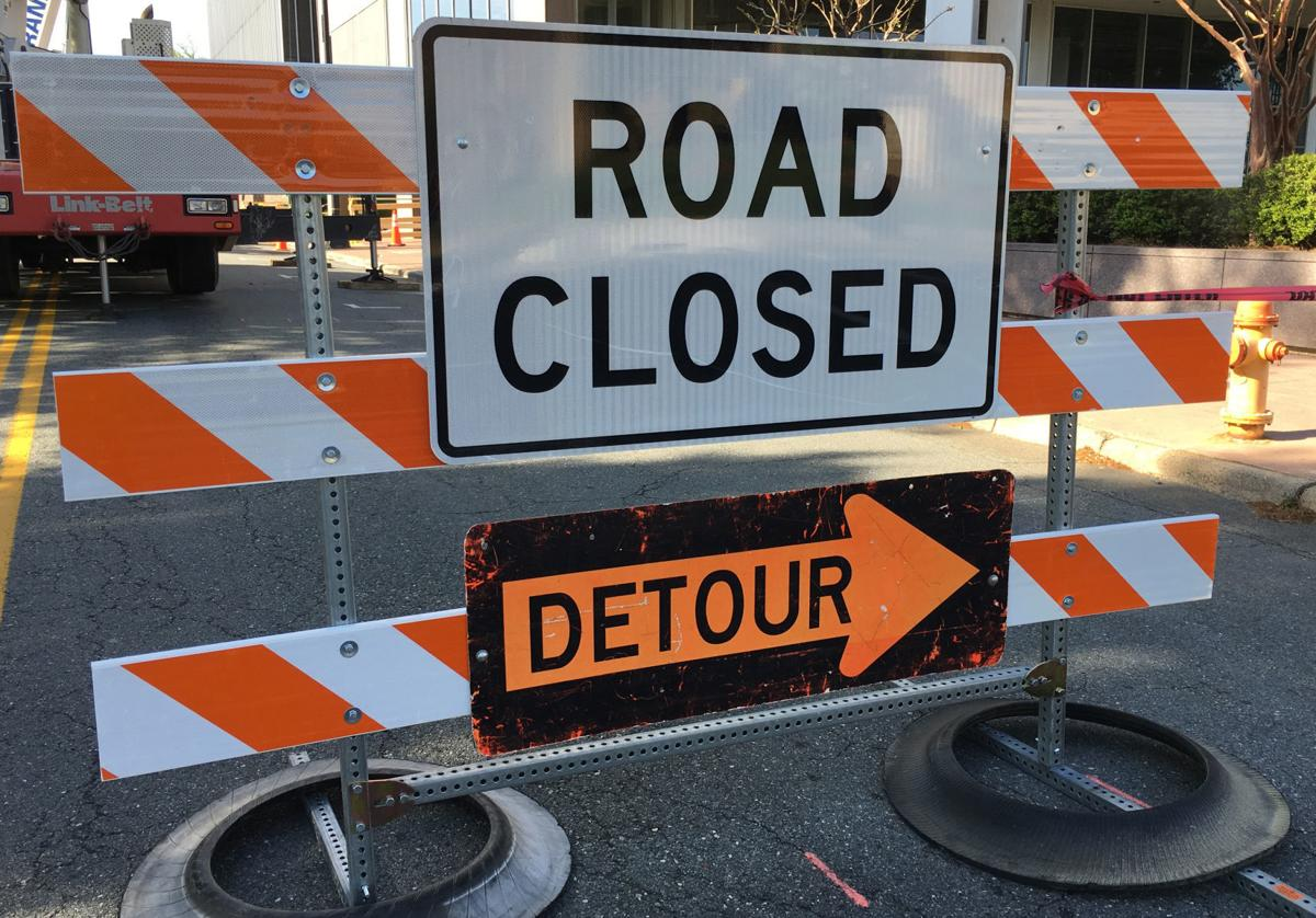 eastbound lanes of east market street to close monday night local