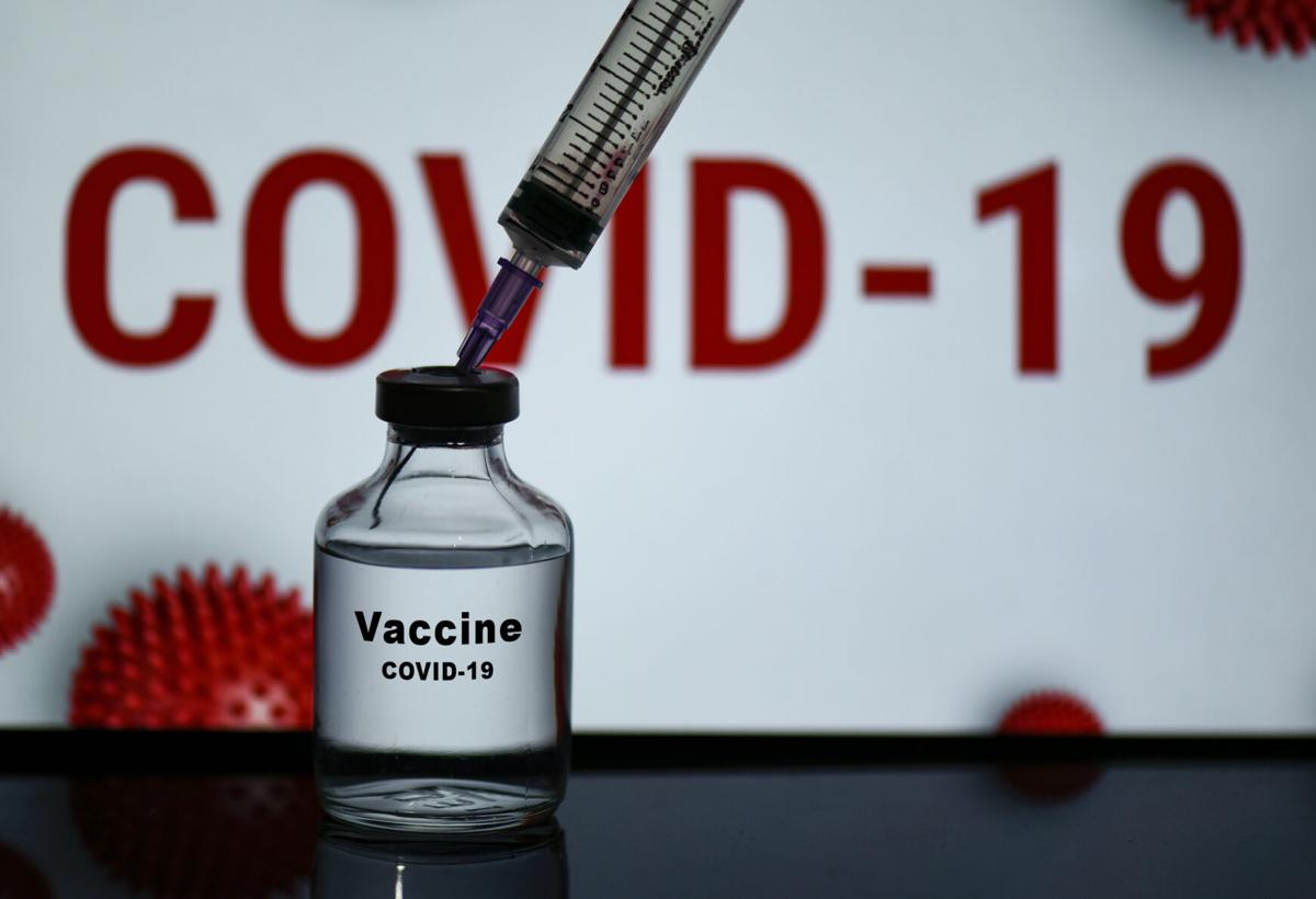 A bottle of  Covid-19 Vaccine WEB ONLY