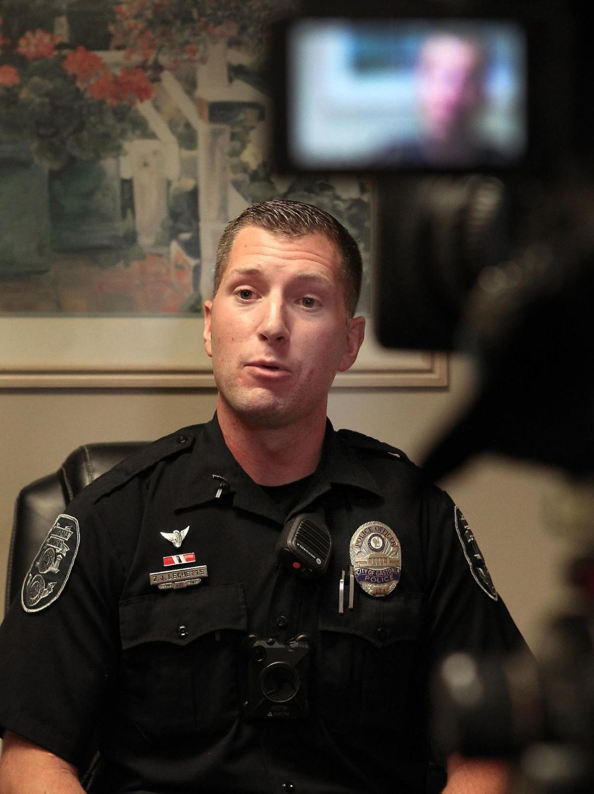 Gastonia police officer donates organs twice to help