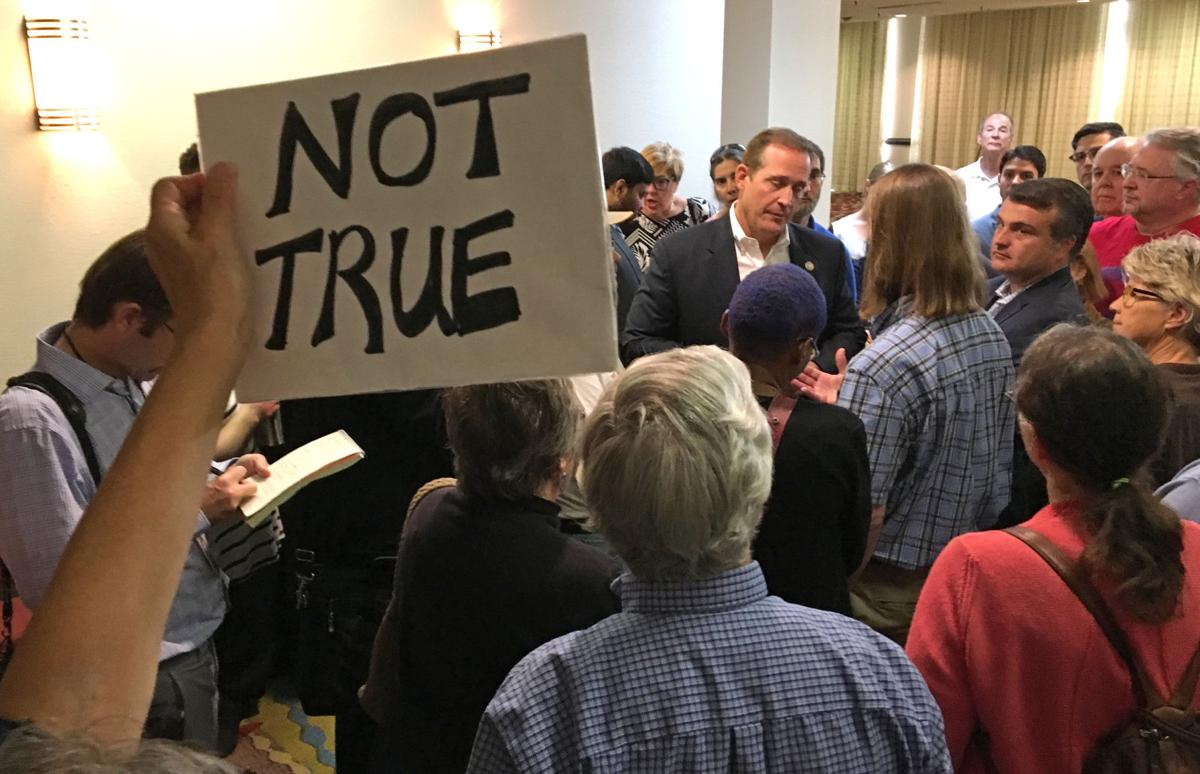 U.S. Rep. Ted Budd Meets Constituents
