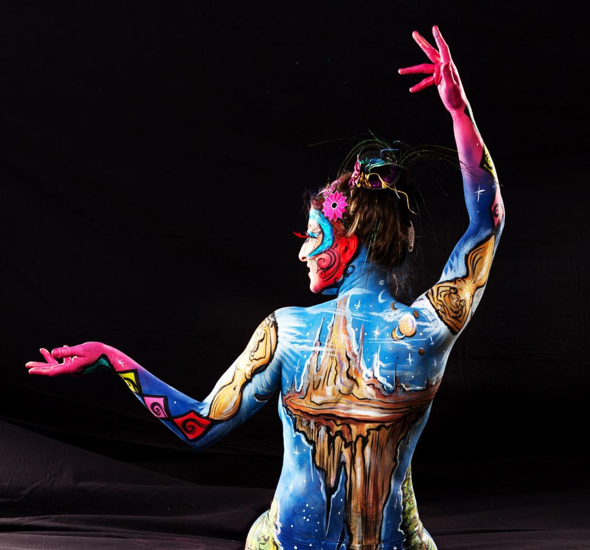 Triad Body Painter To Compete In Tv Series Entertainment Greensboro Com