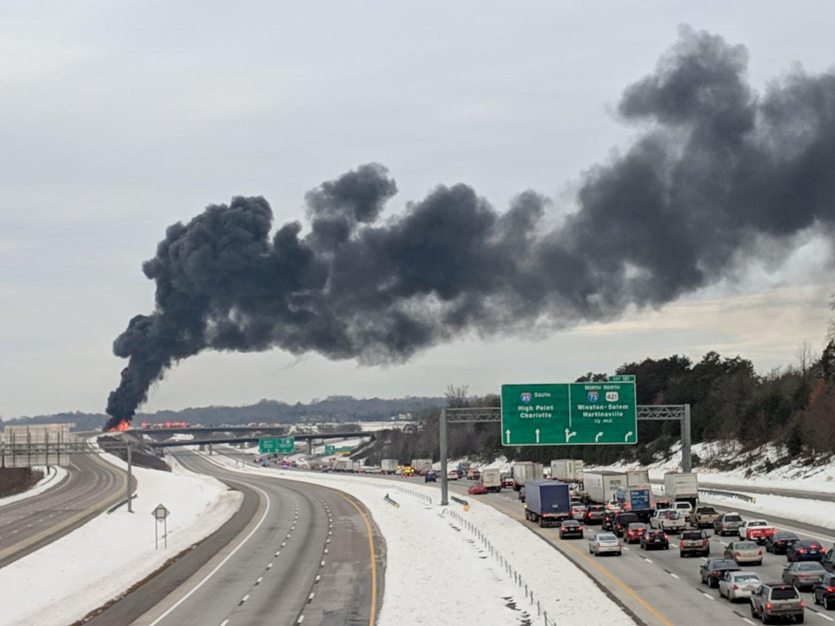 Lane closures on I-73 South expected to continue into next