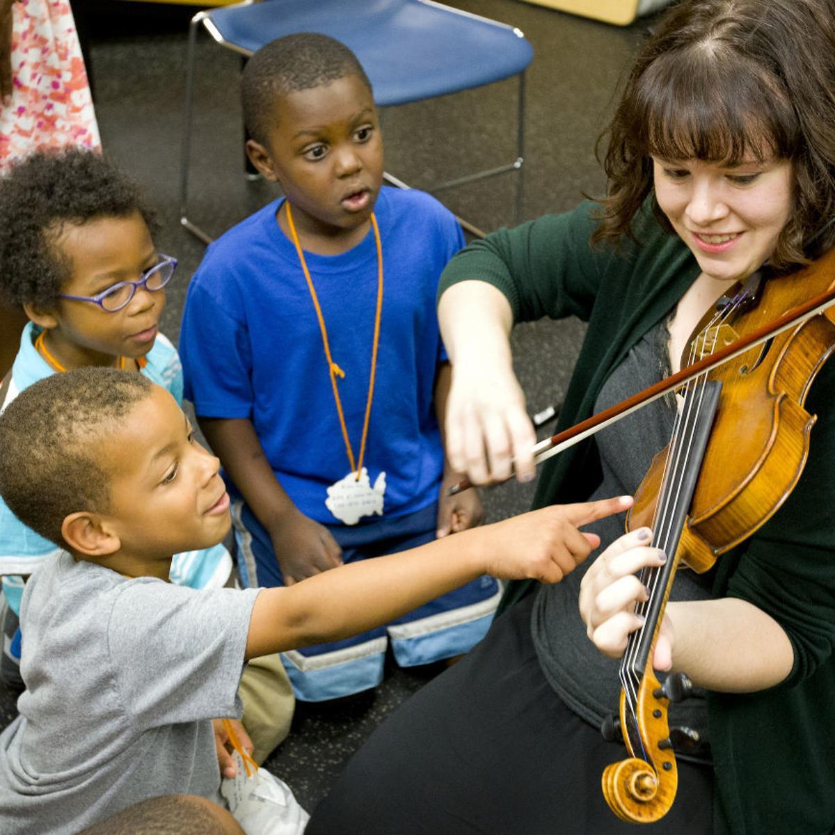 Upcoming week at Greensboro's EMF: free library performances