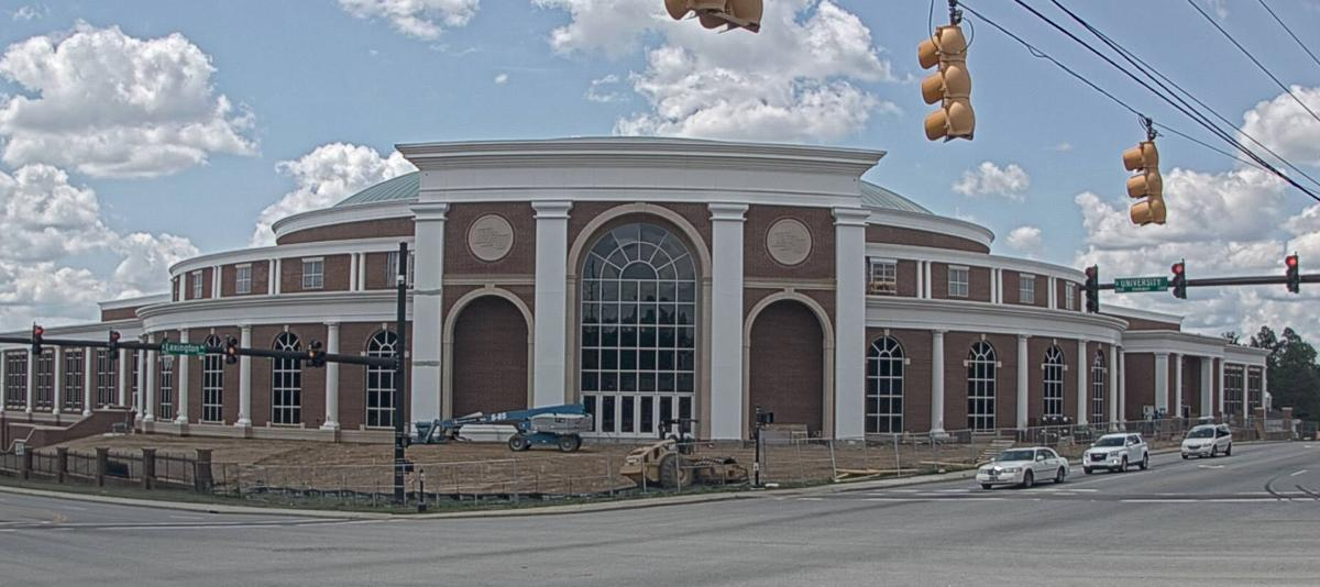 High Point University construction cam arena and conference center