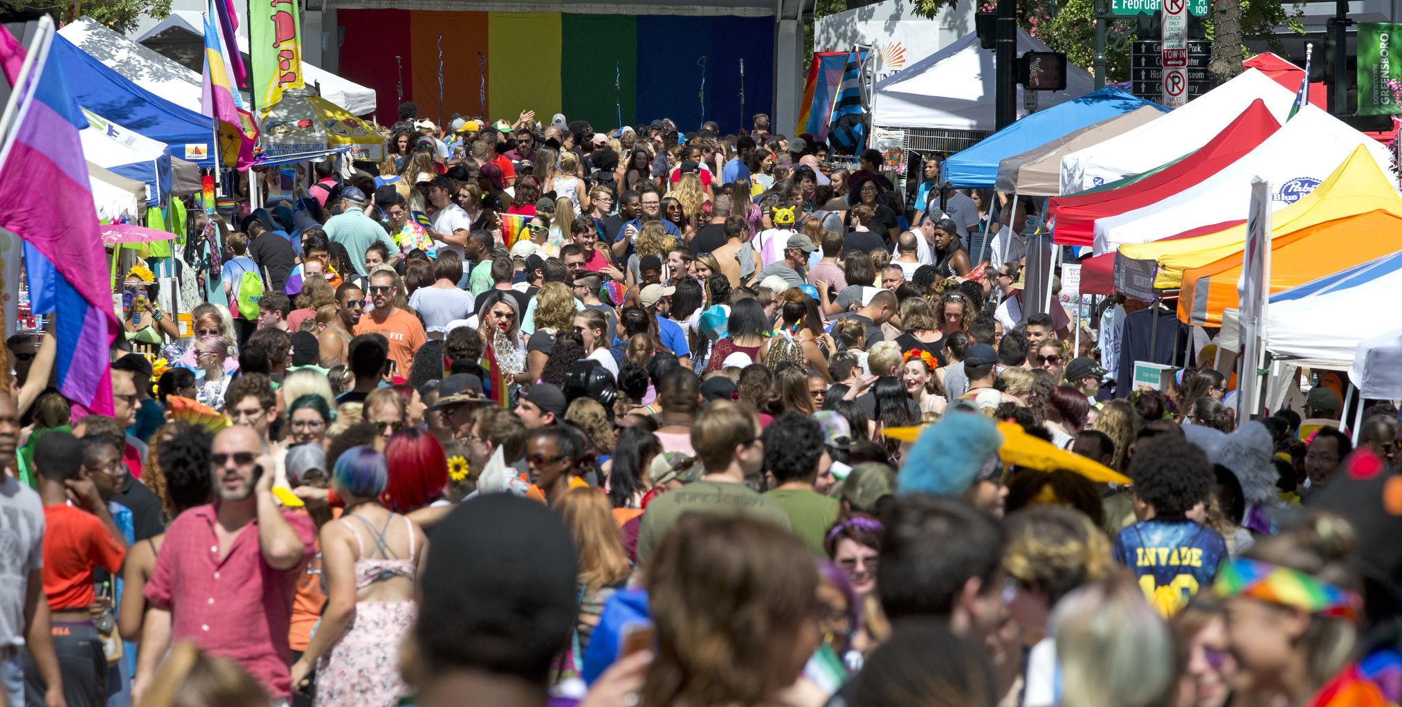 Greensboro gay pride