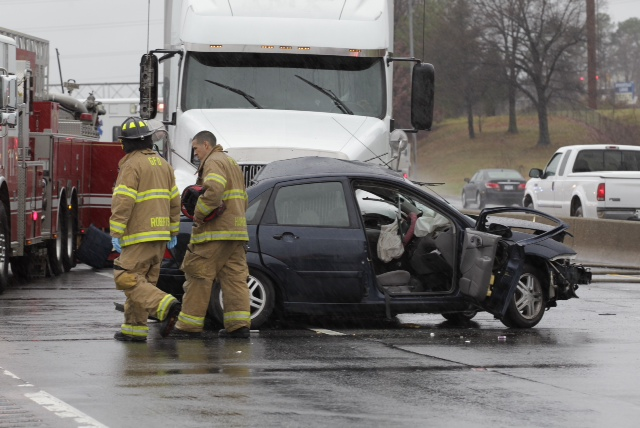 Passenger dies in I-40 car-truck crash | Local News | greensboro com
