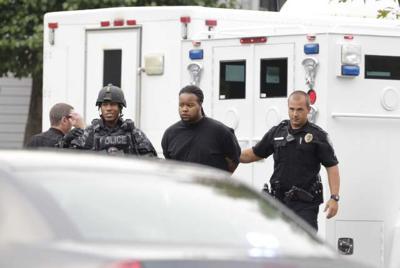 Shooting 091213 Suspect In Custody1 Greensboro