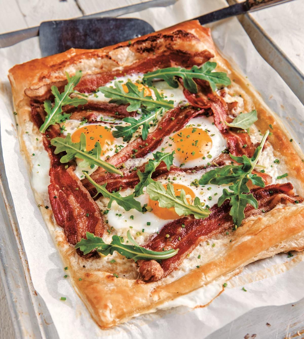 Savor - Fancy Brunch Egg, Bacon and Gruyère Breakfast Tart