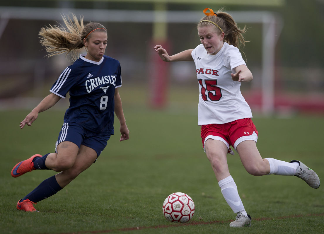 Girl's Soccer: Page beats Grimsley 1-0