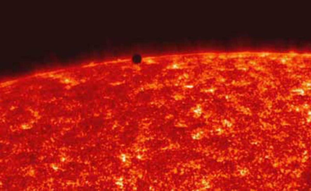 mercury transits across the sun