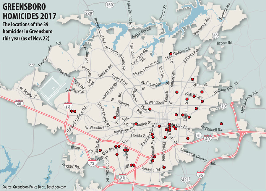 uptick in greensboro s homicide rates begs for change crime rh greensboro com