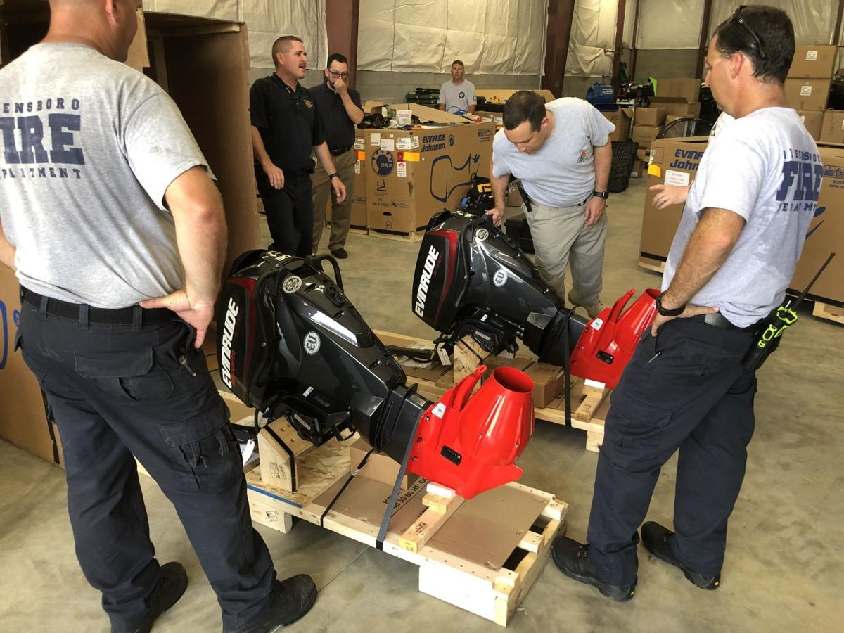 Greensboro Fire Department gets new water resecue equipment