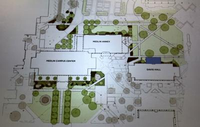 GTCC Jamestown campus aerial drawing