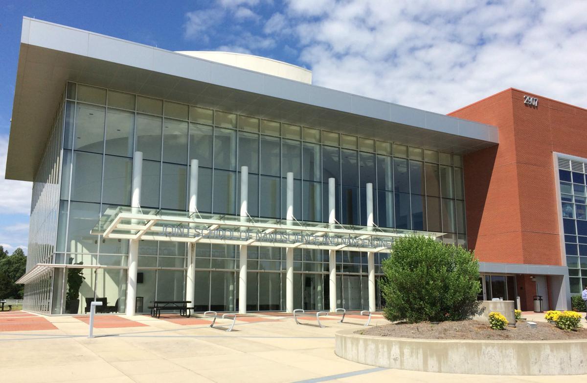 Joint School of Nanoscience and Nanoengineering entrance (copy)