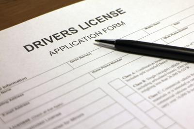 Driver's license form generic web only