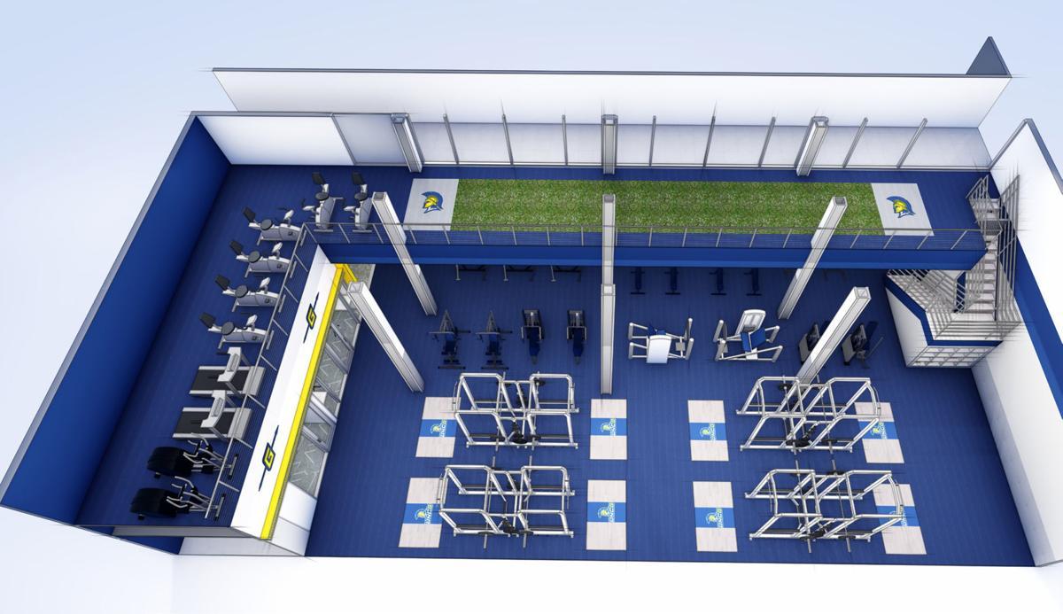 UNCG athletics - weight room