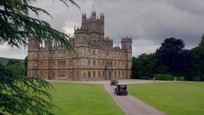 Highclere Castle, aka Downton Abbey