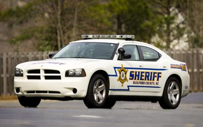 Guilford County Sheriffs Vehicle