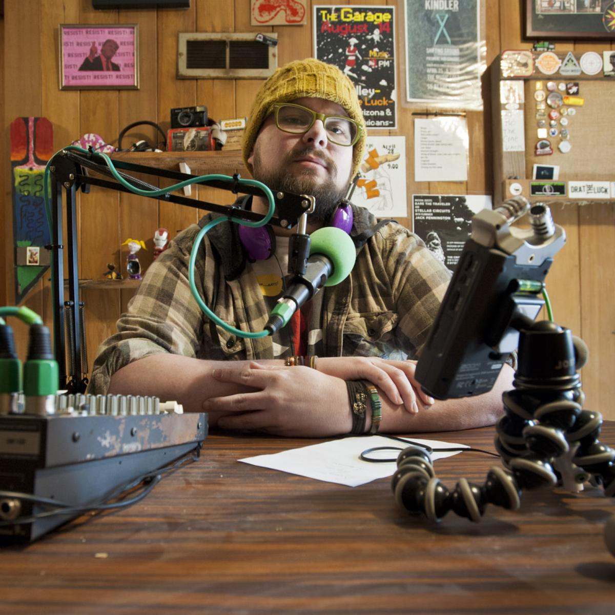 Forsyth County filmmaker launches podcast, hoping shared stories can