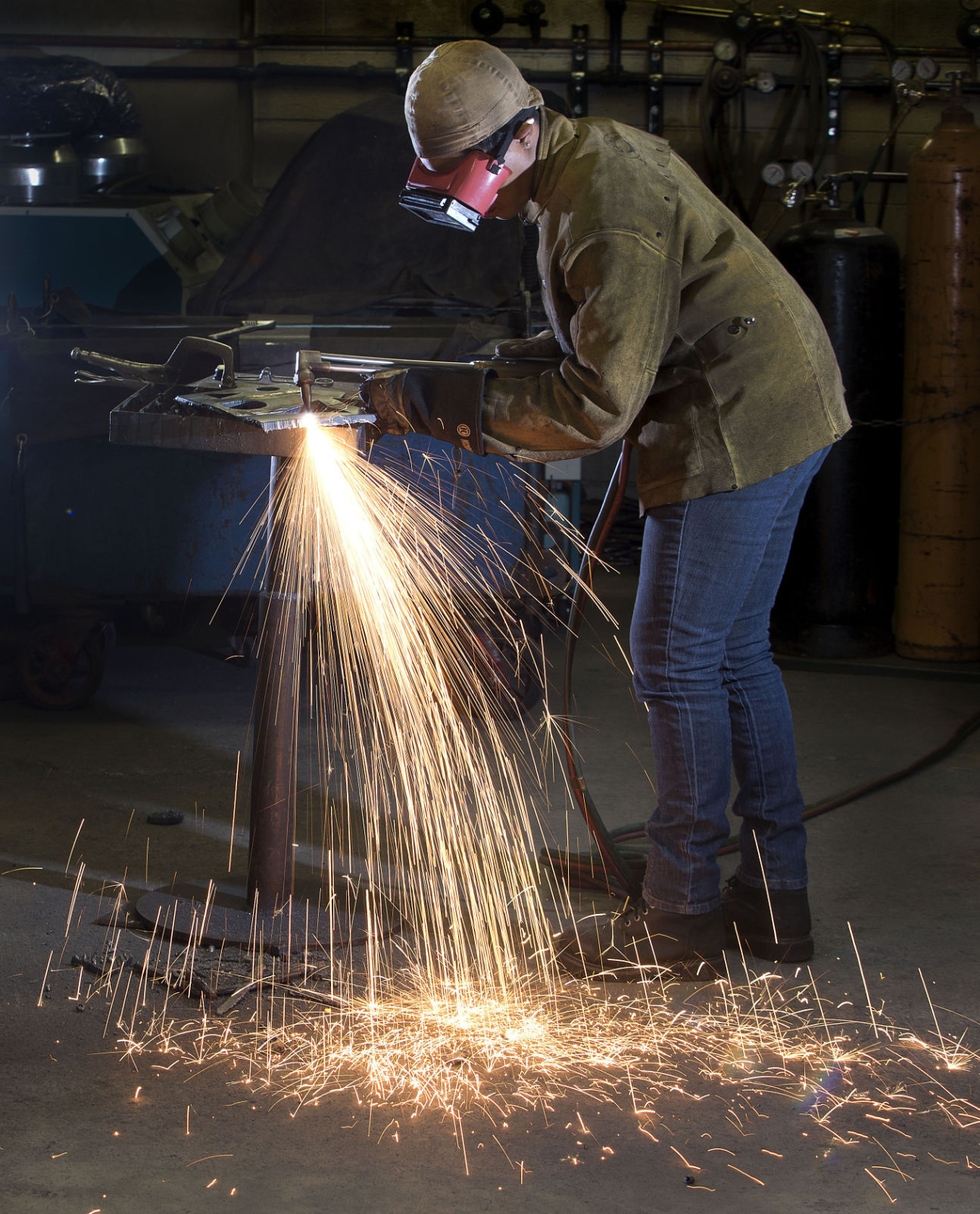 GTCC Welder to Compete What a feeling