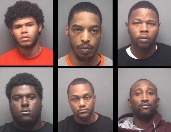 High Point Phase 1 Arrests