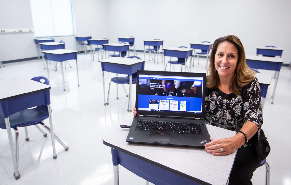 New Guilford County Schools virtual academy principal sees online learning  as wave of the future | Education | greensboro.com