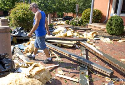 High Point cleans up from storm damage