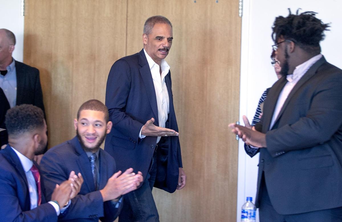 Eric Holder roundtable on redistricting