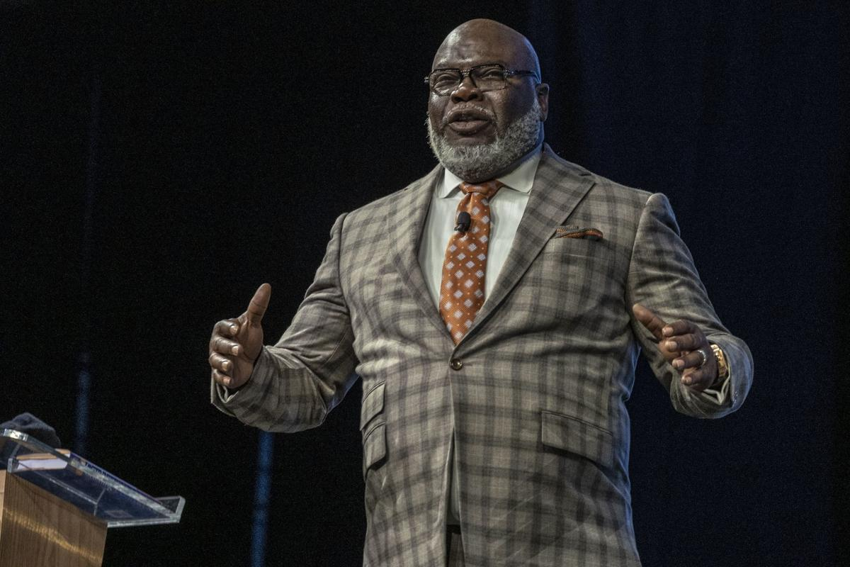 Don't limit your dreams, preacher and inspirational speaker