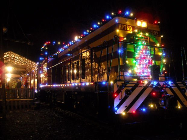 All aboard the holiday train in Denton | GoTriad | greensboro.com