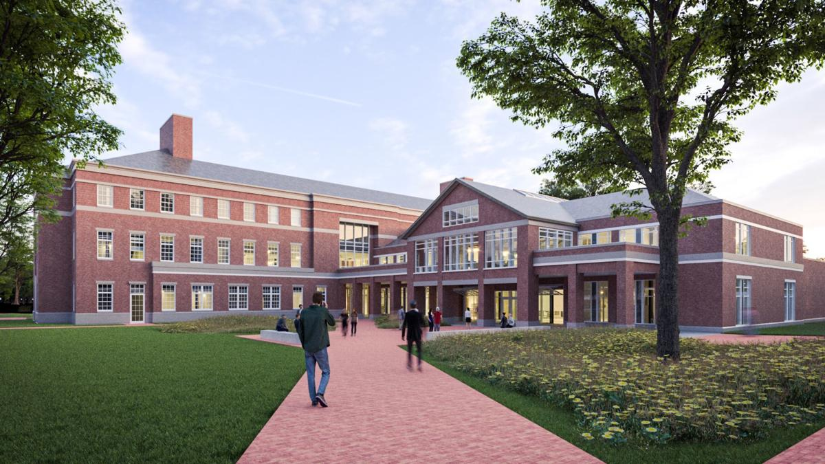 Elon University Innovation Quad renderings