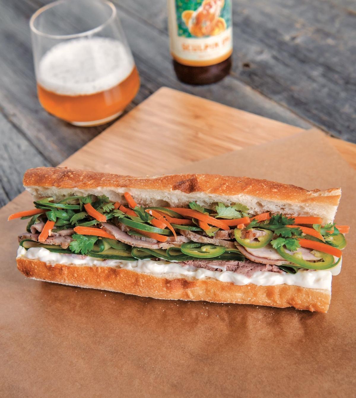 Savor - Pork Bánh Mì with Pickled Vegetables and Pâté