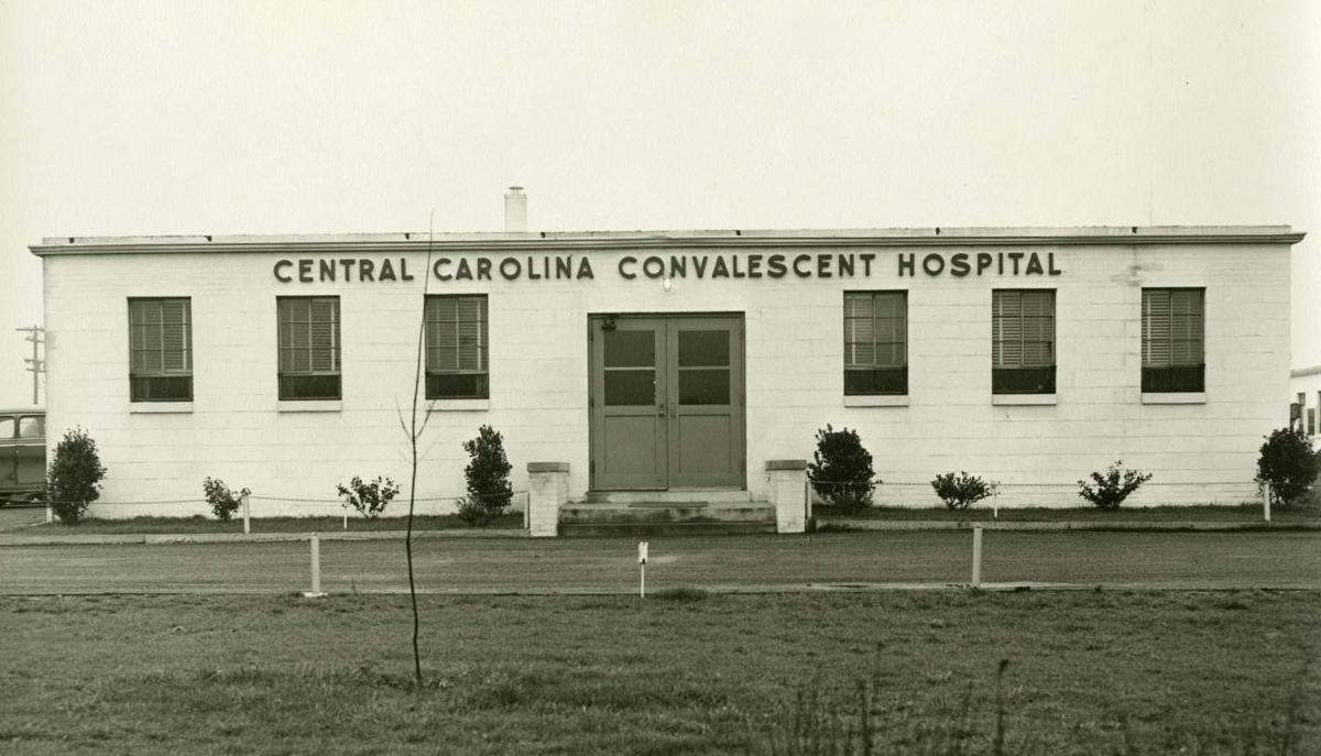 Central Carolina Convalescent Hospital Greensboro polio hospital