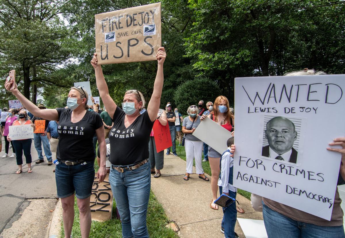 Louis DeJoy Protest