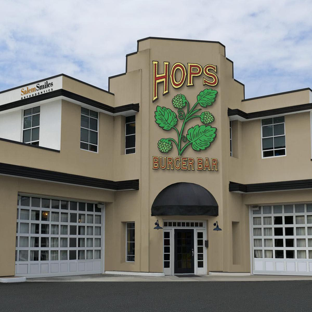 Hops Burger Bar Coming To Downtown Winston Salem This Spring