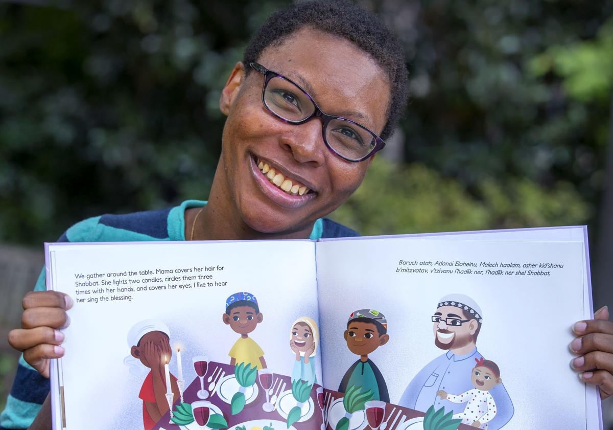 Author writes children's book from multiracial perspective (copy)