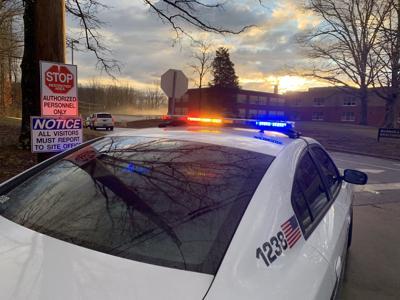 Northwest Middle School police presence