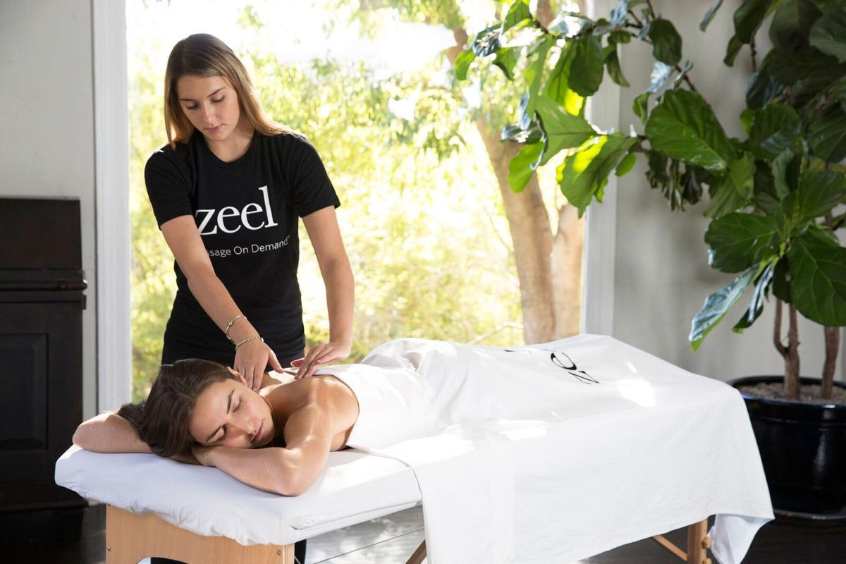 Company offers massage on demand