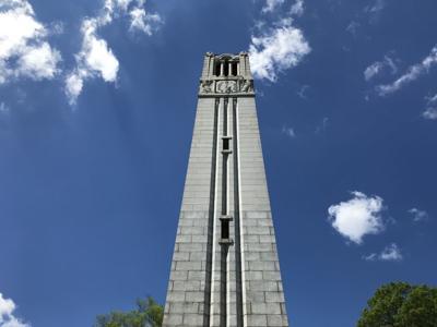N.C. State University Memorial Belltower