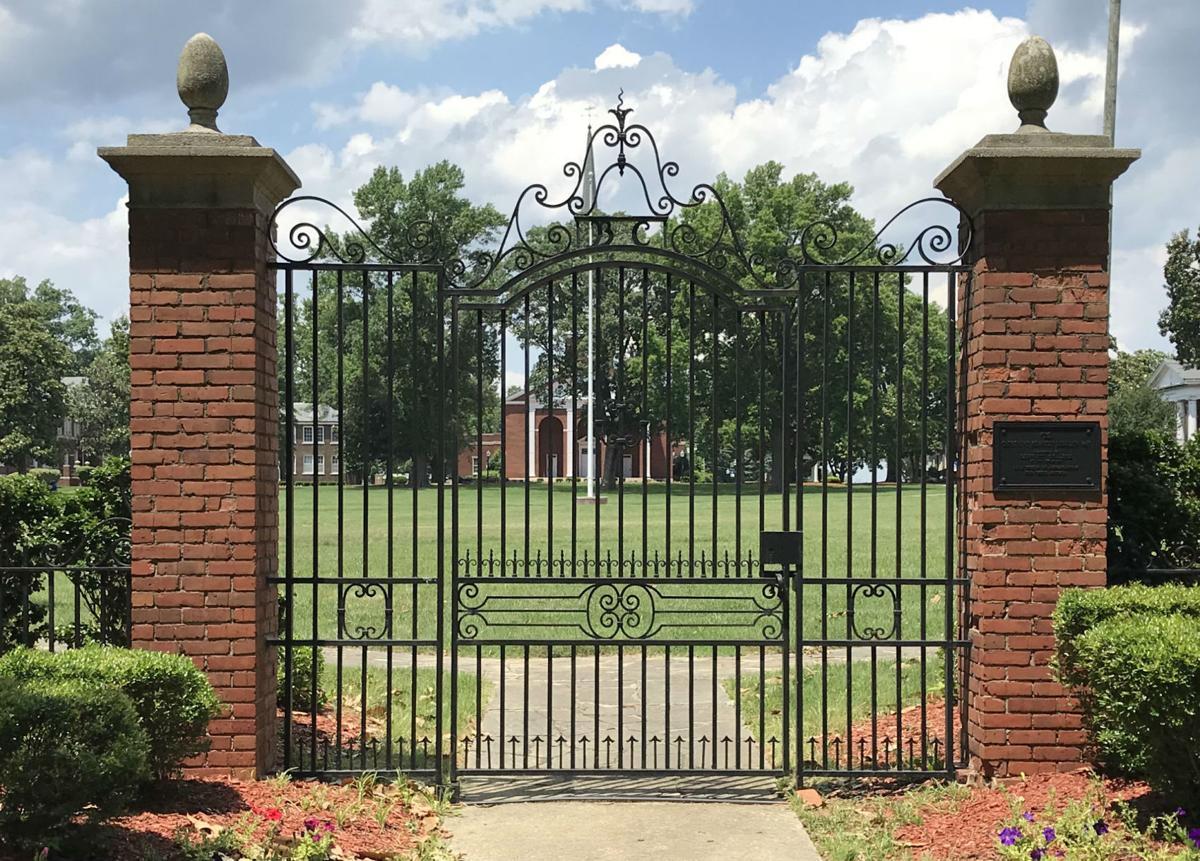 Bennett College gate (copy)