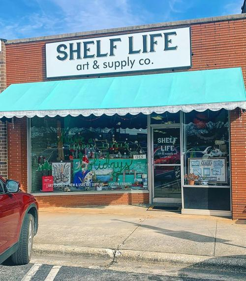Shelf Life Art Supply