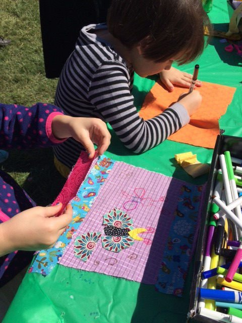 Art in the Arboretum kids
