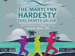 Marylynn Hardesty Teal Hearts 5K 10K