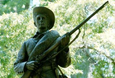 UNC-Chapel Hill statue Silent Sam