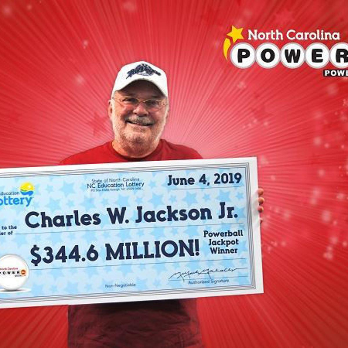 Meet the lucky guy who just won N C 's biggest Powerball