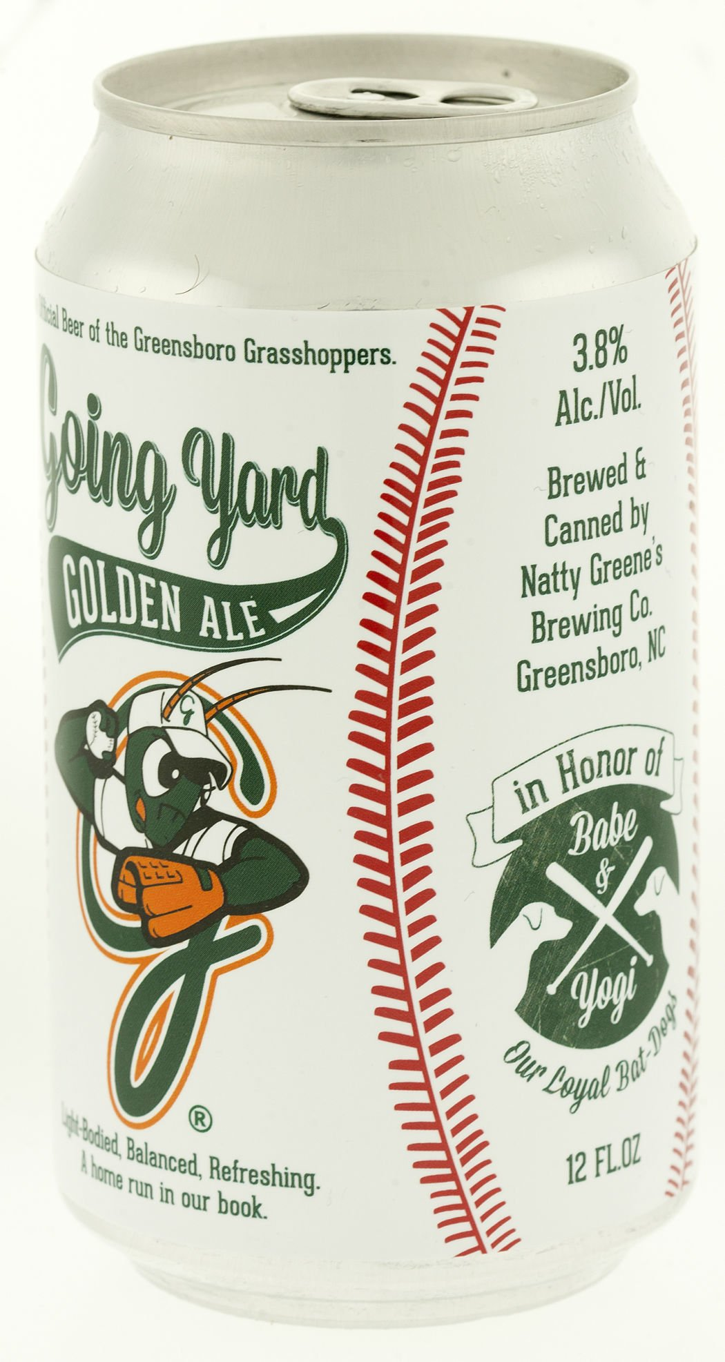 Going Yard: New beer from Natty Greene's making its debut at