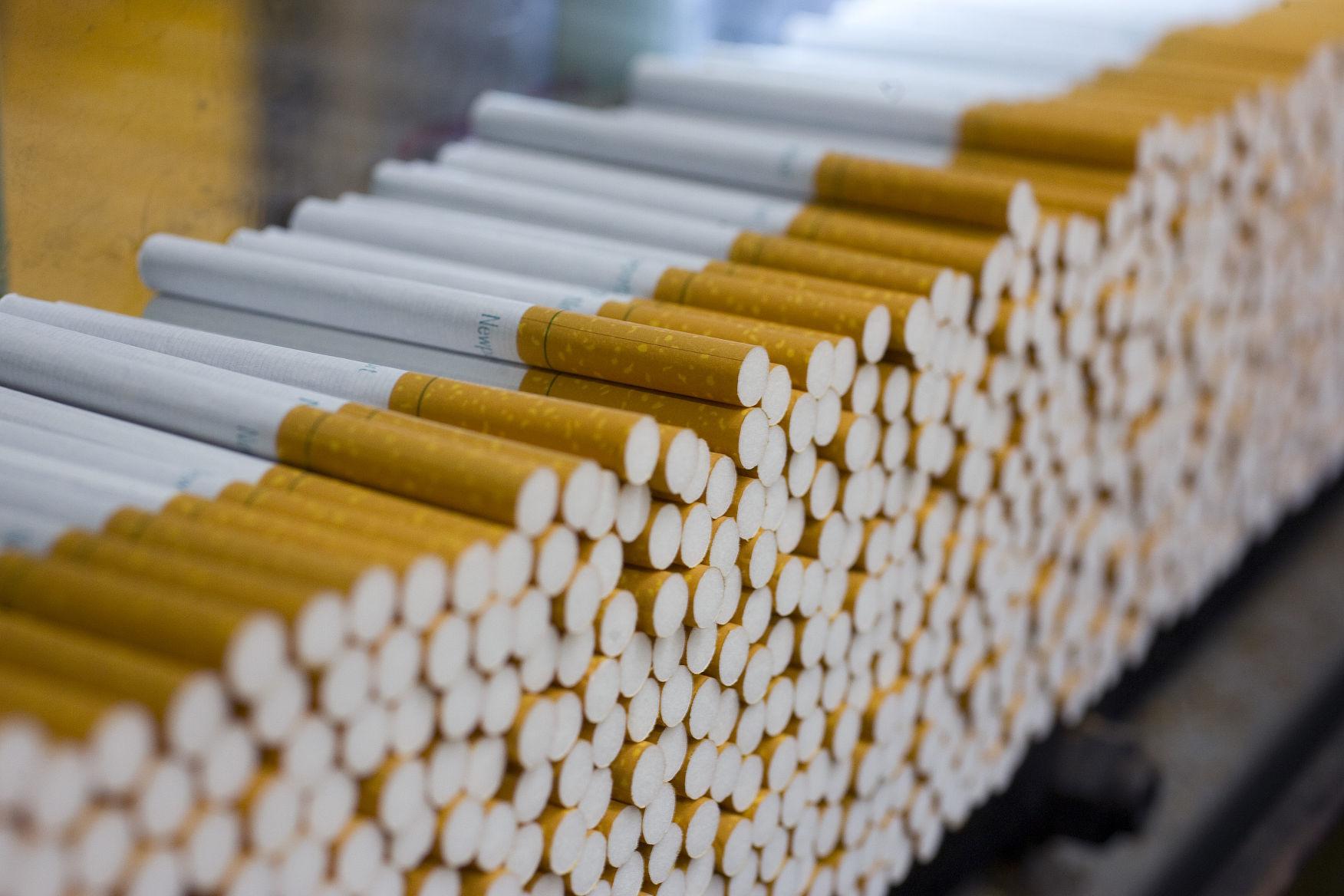 Viceroy cigarettes made Switzerland