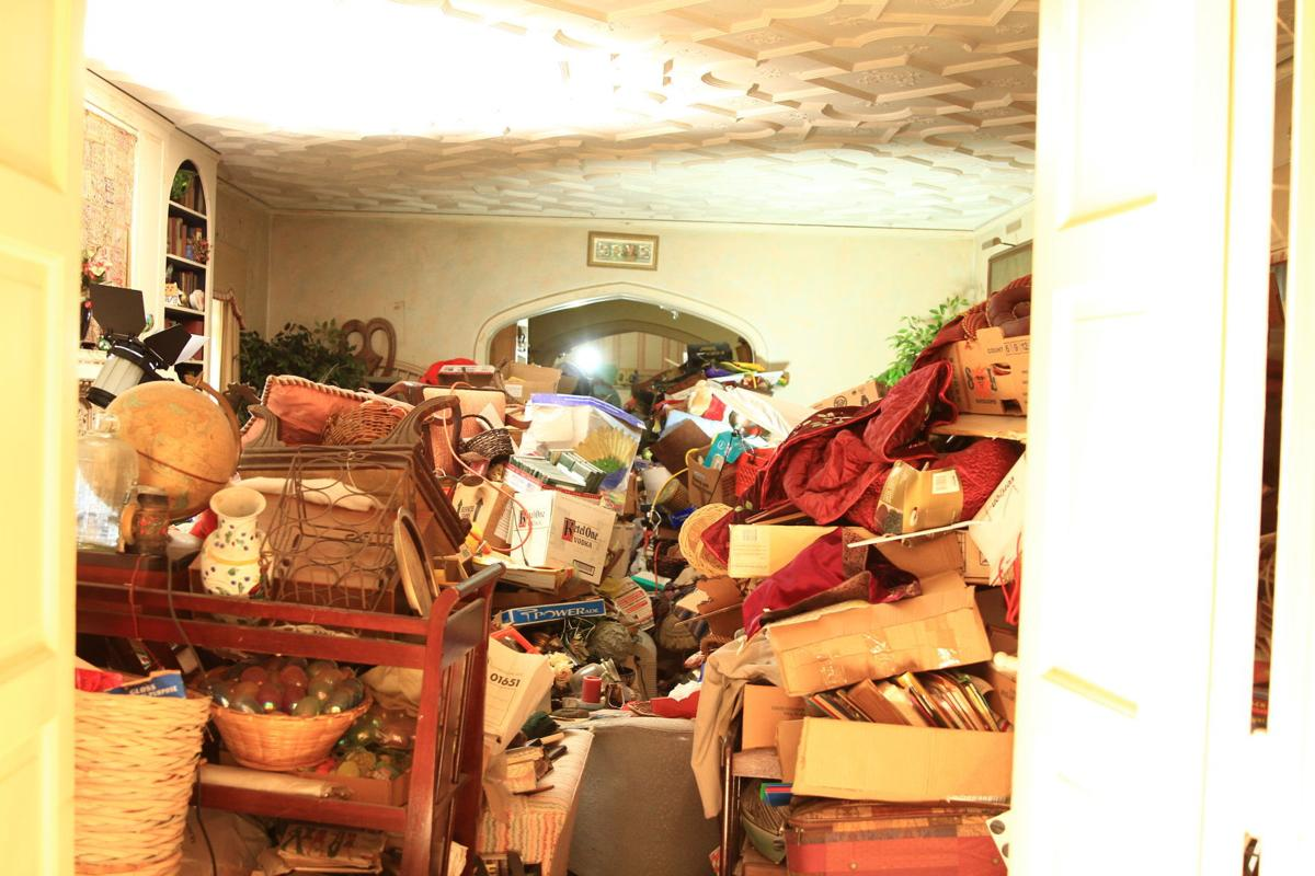 """Hoarders"" TV show at historic Julian Price home (copy)"