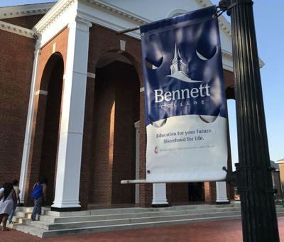 Bennett College chapel sign