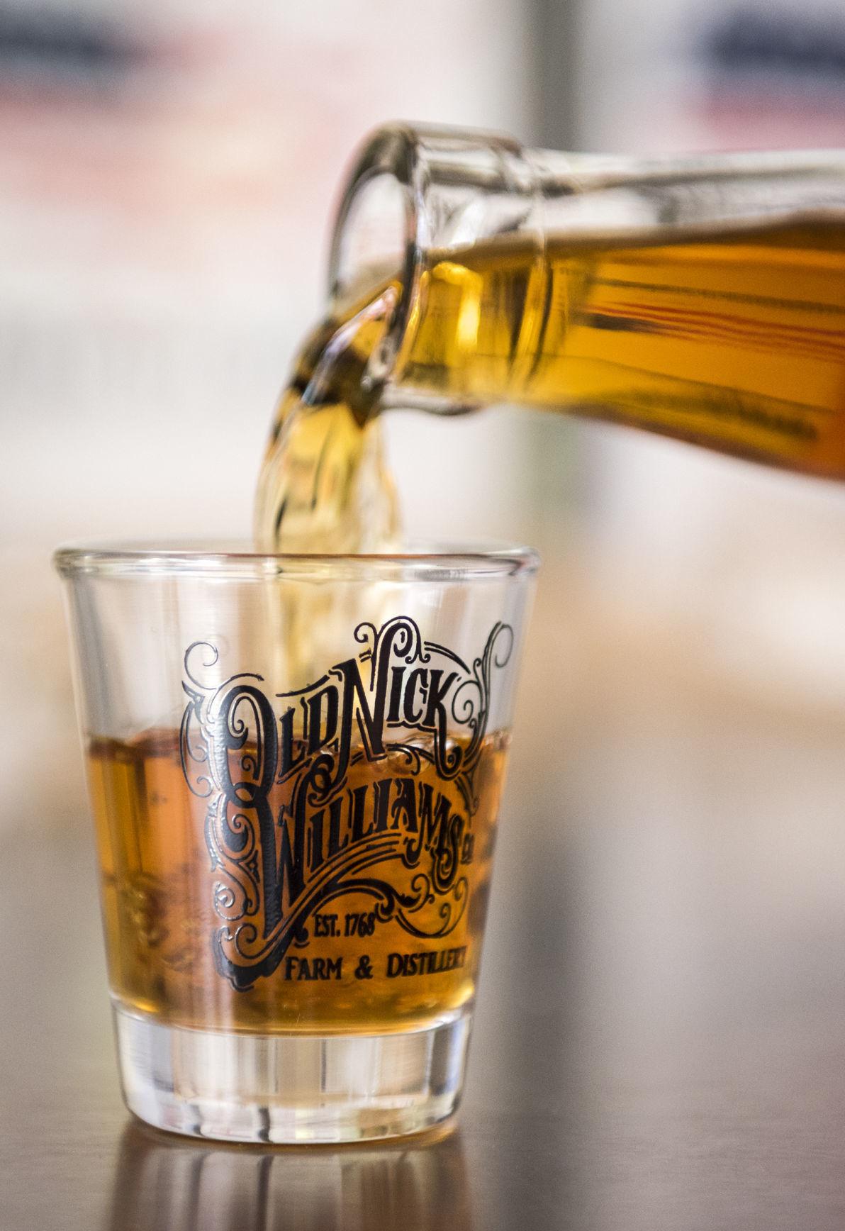 Old Nick Carolina Bourbon and Whiskey